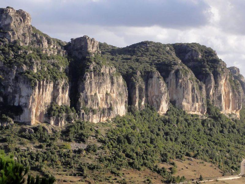 Cueva y tacco de Ulassai Cala Luas Resort